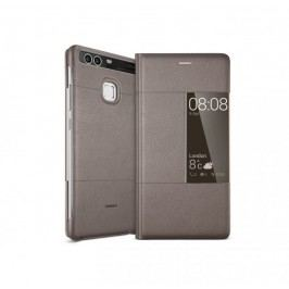 Huawei etui z klapką Smart dla P9, brązowy