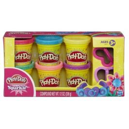 Play-Doh Ciastolina z brokatem A5417