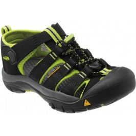 KEEN Sandały Newport H2 K Black/ Lime Green 9