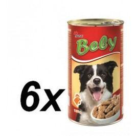 Akinu mokra karma dla psa Bely - z mięsem drobiowym - 6 x 1250g
