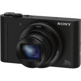 SONY aparat cyfrowy DSC-WX500, czarny