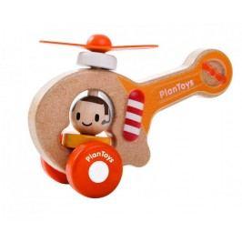Plan Toys Drewniany pojazd helikopter