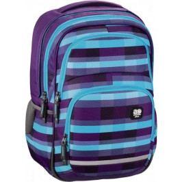 HAMA ALL OUT plecak szkolny BLABY Summer Check purple