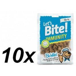 Brit przysmak dla psa Lets Bite Immunity 10x150 g