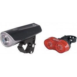 Just One Zestaw lampek rowerowych Vision 3.1 SET