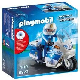 Playmobil Motor Policyjny ze światłem LED 6923