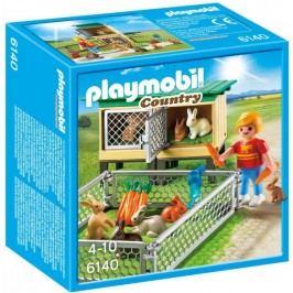 Playmobil Stajnia dla królików z wolnym wybiegiem 6140