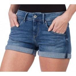 Pepe Jeans szorty damskie Siouxie 27 niebieski