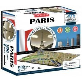 4D Cityscape 4DCity Puzzle - Paryż