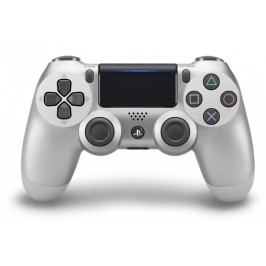SONY gamepad PS4 DualShock 4 srebrny V2