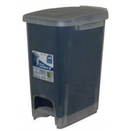 Mazzei Kosz na śmieci ECODUALFACE 16 l, niebieski
