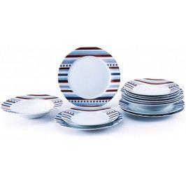 Renberg Zestaw naczyń porcelanowych STARLINE, 18 sztuk