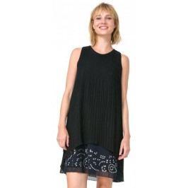 Desigual sukienka damska Besalú 40 czarny