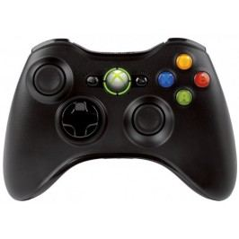 Microsoft gamepad XBOX 360 Wireless Controller Black