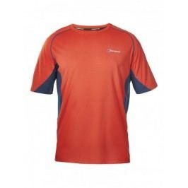 Berghaus koszulka Tech Tee Basecrew SS Am Dark Grey Red L