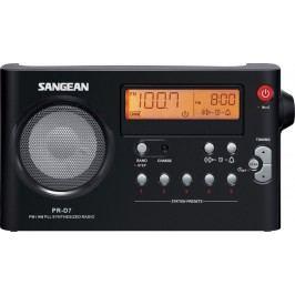 Sangean przenośne radio PR-D7, czarny