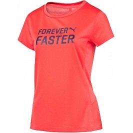 Puma koszulka sportowa PE Running S S Logo Tee W cayenne S