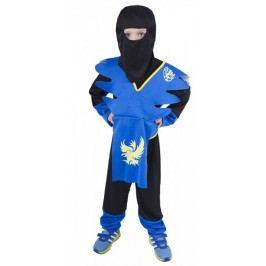 Rappa Kostium Ninja niebiesko- żółty S