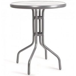 Happy Green stolik kawowy - srebrny