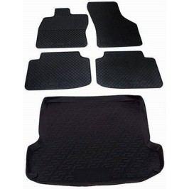 Brillant gumowe dywaniki i mata do bagażnika do Škody Fabii II Hatchback (5J) (3/2007-10/2014)