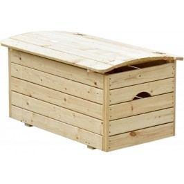 CUBS Drewniana skrzynia na zabawki