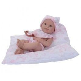 Nines Lalka niemowlak w różowej sukience