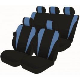 Carlson pokrowce uniwersalne na fotele samochodowe czarno-niebieskie