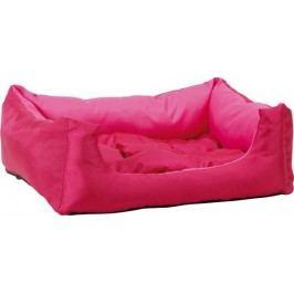 Argi prostokątne legowisko z poduszką, różowe, rozm. S
