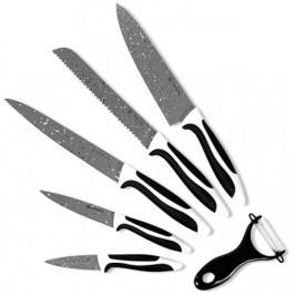 Kitchen Artist Zestaw noży z kamiennym ostrzem, 6 szt.