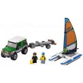 LEGO® City 60149 4x4 Terenówka z Katamaranem