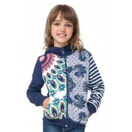 Desigual bluza dziewczęca Chauter 116 niebieski