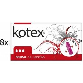 Kotex normal Tampony – 128 szt