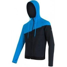 Sensor bluza z kapturem Tecnostretch Black / Blue M