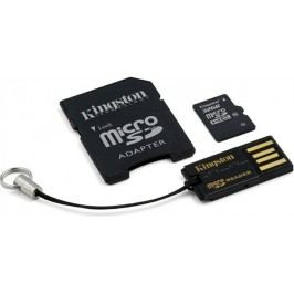 Kingston karta pamięci microSDHC 32GB (class 10)+ adapter + USB czytnik