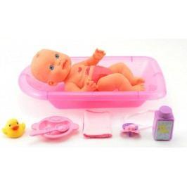 Teddies Lalka w kąpieli + akcesoria