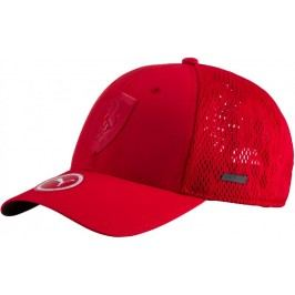 Puma czapka z daszkiem Ferrari LS scorpion cap Rosso Corsa