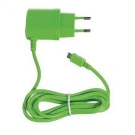 CELLY ładowarka micro USB, zielona