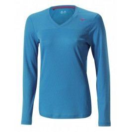 Mizuno koszulka do biegania Breath Thermo V Neck W CaribbeanSea M