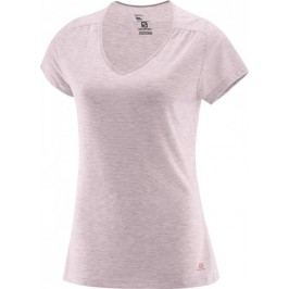 Salomon Ellipse Ss Tee W Pink Dogwood XS