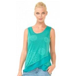 Desigual koszulka bez rękawów damska Sabado XS łososiowy
