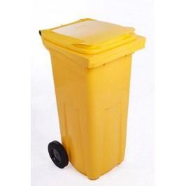 J.A.D. TOOLS plastikowy kosz na odpadki  240 l żółty