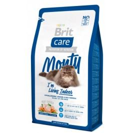 Brit sucha karma dla kota Care Cat Monty I´m Living Indoor - 2 kg