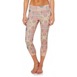 ROXY legginsy Imanee Pt Capri Heritage Heather S