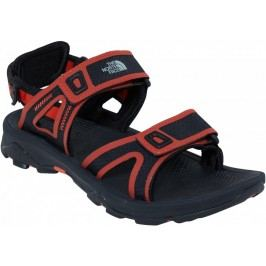 The North Face Sandały M Hedgehog Sandal II Tnfblack/Tibetan orange 44,5