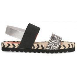 Desigual sandały damskie Formentera Save Th 37 czarny