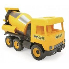 Wader Auto middle Truck betoniarka żółta