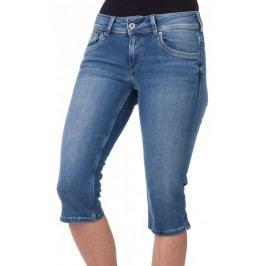 Pepe Jeans szorty damskie Saturn Crop 25 niebieski