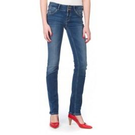Mustang jeansy damskie 25/32 ciemny niebieski