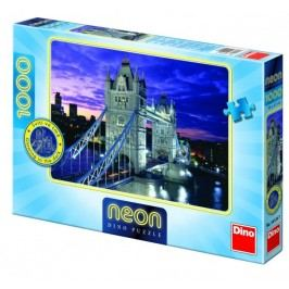 DINO Tower Bridge neon puzzle, 1000 szt