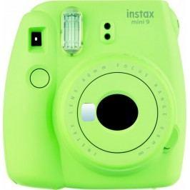 FujiFilm aparat do zdjęć natychmiastowych Instax Mini 9, limonkowy